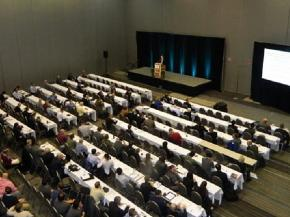 Plenary session at the 78th Glass Problems Conference. Credit: ACerS