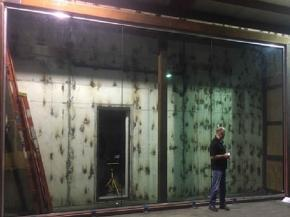 Faour Glass: Frameless Impact Window Pushes Limits with 8'x12' Unit at +/-110psf!