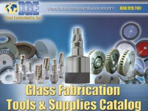 Tools & Supplies Catalog Now Available from IGE Glass Technologies