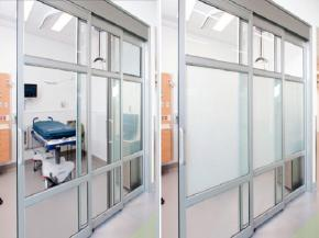 eGlass Doors for Hospitals