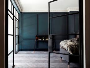 Steel screens for stylish interior spaces