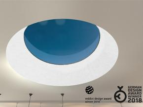 Red Dot Award for round design - LAMILUX