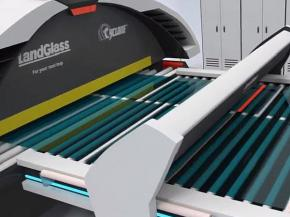 LandGlass Cyclone Glass Tempering Furnace unveiled - video