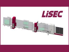 Premieres at the glasstec: SplitFin the new Lisec processing concept with water Jet Technology