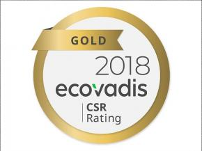 "NSG Receives ""Gold"" CSR Rating from EcoVadis"