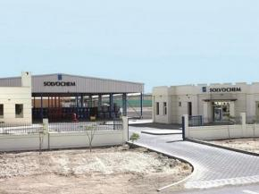Solvochem's warehouse facility in the UAE
