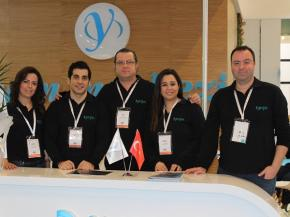 Pionner Acid Etched Glass Producer Yorglas has attended to Eurasia Glass 2018
