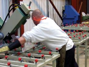 Easier Glass Handling with Ball Rollers and Ball Castors | ALWAYSE Engineering