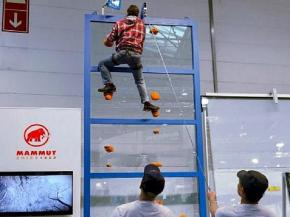 Bystronic glass together with MAMMUT at glasstec 2018 in Düsseldorf