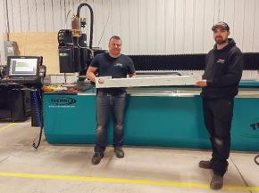 TECHNI bringing the latest in waterjet cutting to Linker Manufacturing, Ltd.
