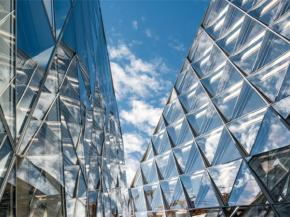 mfree-SCCF façade by Permasteelisa Group awarded in the US by the National Institute of Building Sciences