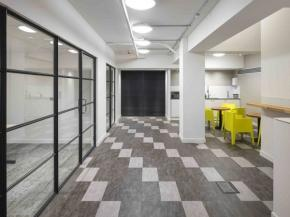 Natural light: Clement steel screens make your space a great place to work