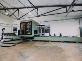 New CNC Machine lands at Clarke Facades