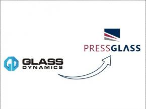 GLASS DYNAMICS Inc. has changed its name to PRESS GLASS, Inc.
