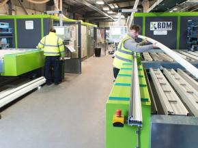 Quadruple cutting and machining centre investment at TruFrame