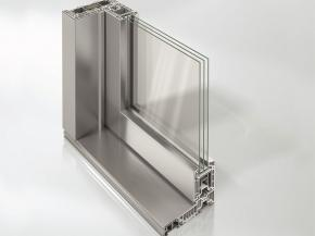 Schüco LivIngSlide – the new lift-and-slide door system as the version with external aluminium Schüco TopAlu cover caps.