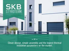 SKB Styroterm – heat closed in a roller shutter box