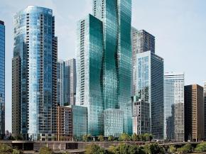 Wanda Vista Tower in Chicago: 10-Story VS1 Cube