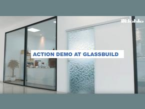 Bohle America with ACTION DEMOS everywhere at GlassBuild