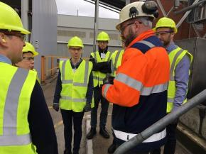 British Glass member hosts BEIS for talks on the future of the glass industry