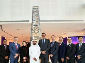 Six Construct (BESIX) to build the 339 metre high, 78-storey Uptown Tower in Dubai