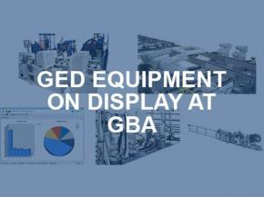 GED Equipment on Display at GlassBuild America 2019