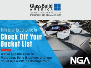 Win a VIP Tour of Mercedes-Benz Stadium During GlassBuild America