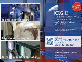ICCG13 March 23-26 2020: register & submit your abstract