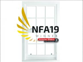 Victorian Sliders Named Glazing's Best Vertical Sliding Window Company In NFA 2019