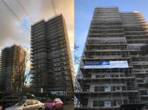 London City tower block installation | Newview Windows & Conservatories