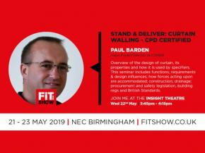 Comar Presents RIBA Approved Curtain Walling CPD @ The FIT Show