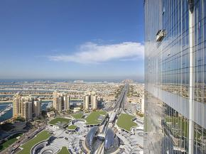 Pilkington solar control glass gives the coolest views in Dubai