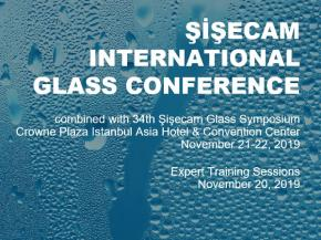 "Şişecam International Glass Conference combined with 34th Şişecam Glass Symposium ""Glass in the Sustainable Future: Achieving What is Possible"""