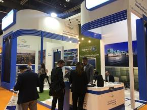 Emirates Insolaire showcases coloured solar panel technology and projects at World Future Energy Summit