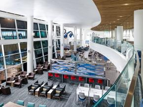Trex Commercial Products: Delta Sky Club