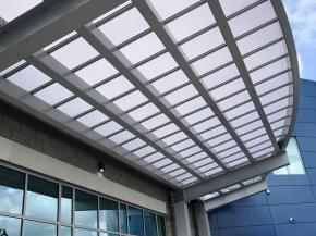 Duo-Gard's Translucent Canopy Complements New Frank J. Gargiulo Campus