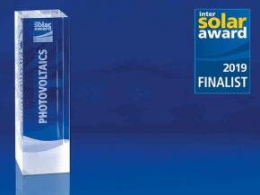 Intersolar AWARD 2019: Finalists announced