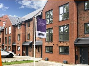 Profile 22 Optima Flush Casement Windows specified for high quality housing development
