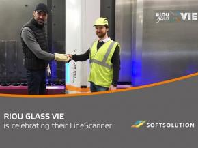RIOU Glass VIE is celebrating their LineScanner