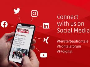 Network with the FENSTERBAU FRONTALE in social media