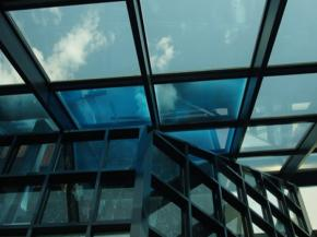 SolarSmart commercial skylights that automatically darken