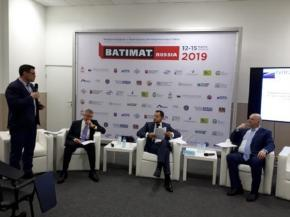 Opora Rossii held an extended meeting of the construction committee at Batimat Russia 2019