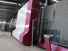 Penghao Glass is optimistic and firm about the market of thermoplastic IG units, a new plant was constructed before the delivery of the equipment.