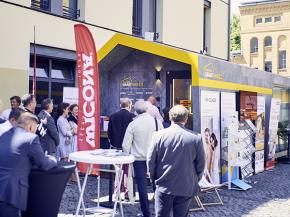 "Touring Germany as project partner for ""Smart-Haus"" 