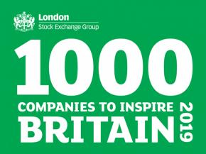 Unique Window Systems included in 1000 Companies to Inspire Britain 2019
