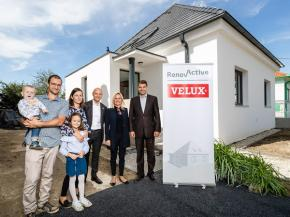 VELUX makes new inroad into Central Europe with opening of RenovActive house in Slovakia