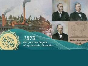 Glaston 150 years: from forest company to world's leading glass processing technology company