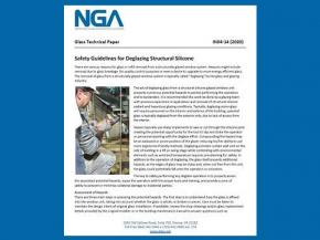 NGA releases new Glass Technical Papers (GTPs)