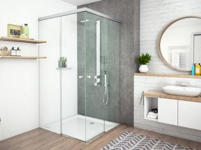 New shower door complements MasterTrack® sliding door series