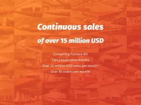 NorthGlass: Continuous sales of over 15 million USD